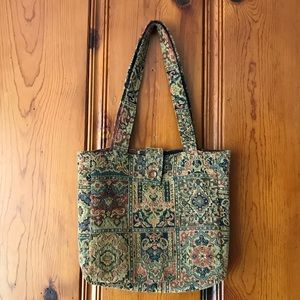 Handbags - VINTAGE Carpet Bag